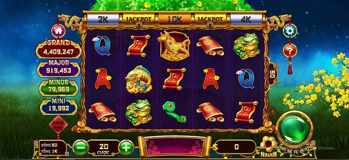 Jackpot nổ hũ giá trị thưởng cao