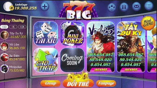 Big777 có lừa đảo không và có có nên tham gia?