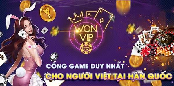 WonVip - thế giới giải trí cho người Việt tại Hàn!