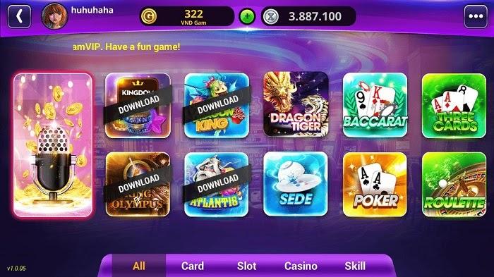 Gamvip chứa kho tàng trò chơi vô cùng phong phú và đa dạng