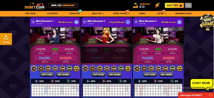 Hệ thống casino live tại Debe