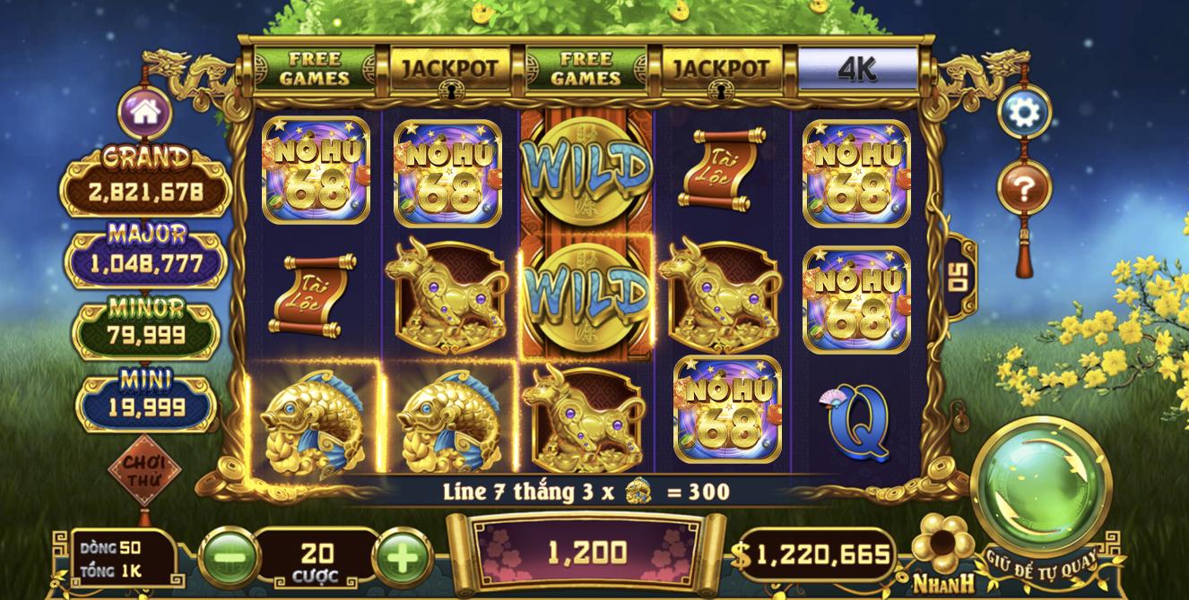 Game slot đổi thưởng nohu68