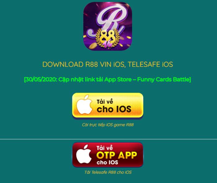 Link tải cho điện thoại Iphone, Ipad tiện lợi dễ dàng