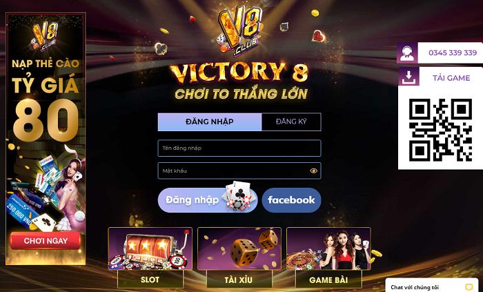 V8Club hiện là cổng game thu hút đông thành viên