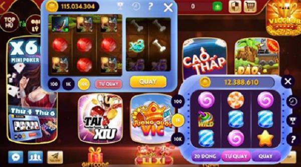 Giao diện của trò chơi tại bay247 hệ điều hành iOS