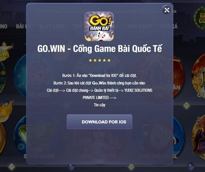 Gowin – Game bài đổi thưởng đình đám hiện nay