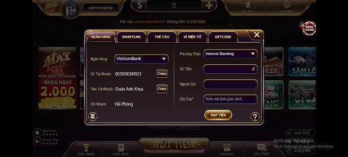 Game bài đổi thưởng Mayclub - sân chơi xanh chín cho game thủ Việt Nam