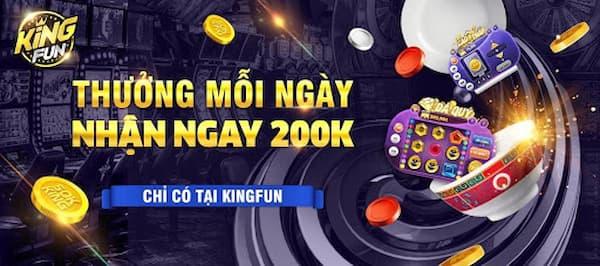 Nhiều phần thưởng hấp dẫn được King Fun tung ra
