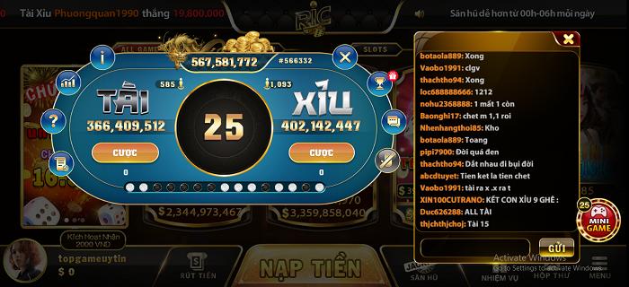 Game bài đổi thưởng Rikwin - Sân chơi ăn tiền hàng đầu dành cho người chơi Việt Nam