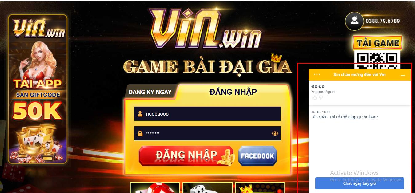 Game bài đổi thưởng Vinwin - Game nổ hũ đổi thưởng xuất sắc nhất Việt Nam