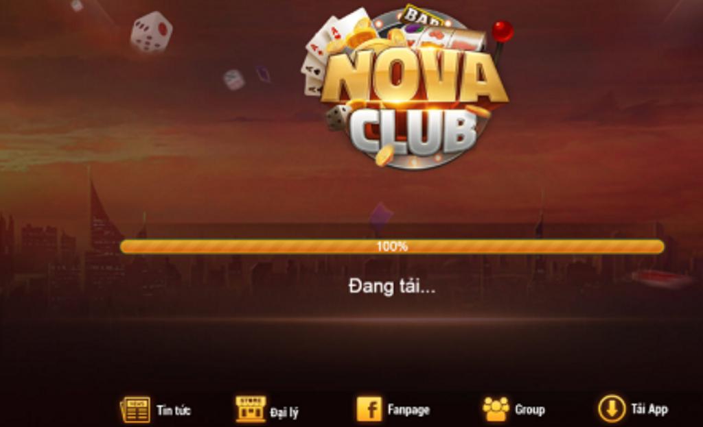 nova club - Thế giới trò chơi hấp dẫn