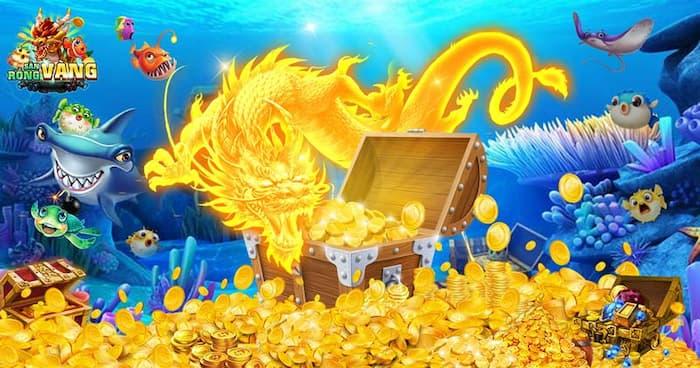 Giao diện và đồ hoạ của săn rồng vàng đẹp mắt