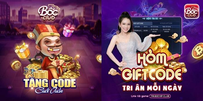 Làm sao để nhận giftcode tại boc club? Tại sao nên chọn boc club?