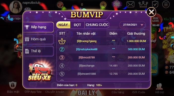 Làm sao để nhận giftcode tại bum club? Tại sao nên chọn bum club?