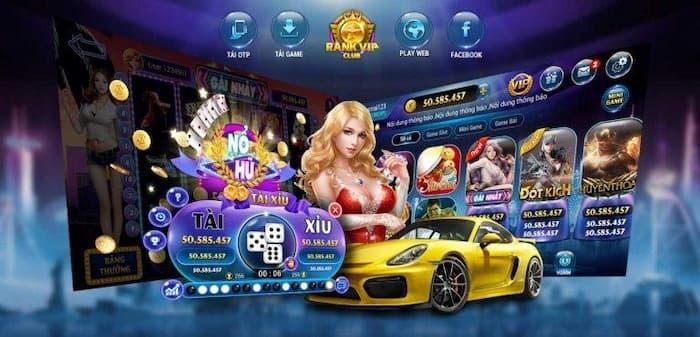 Link tải game bài rankvip