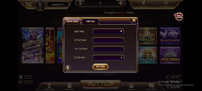 Game bài đổi thưởng đẳng cấp, xuất sắc mang tên Nhatvip club