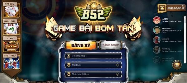 Hướng dẫn đăng nhập cổng game đổi thưởng B52 Club