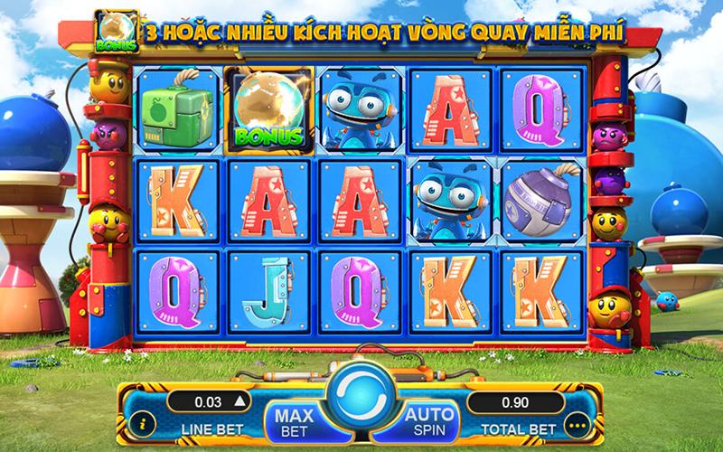 Giới thiệu về game slot Lucky Bomber