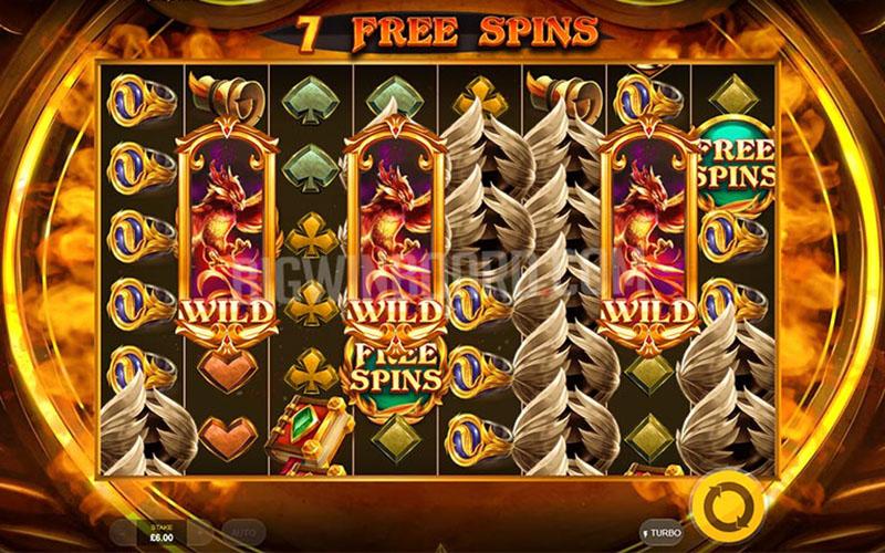 Tính năng thưởng của Game slot Phoenix Fire Power Reels
