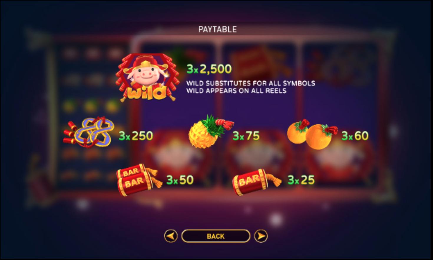 Slot Fa Fa Zhu game phong cách cổ điển cực thú vị