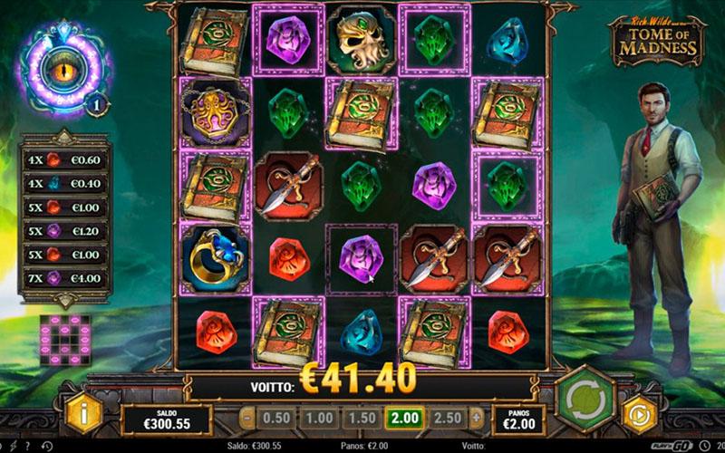 Giới thiệu về game slot Tome of Madnes