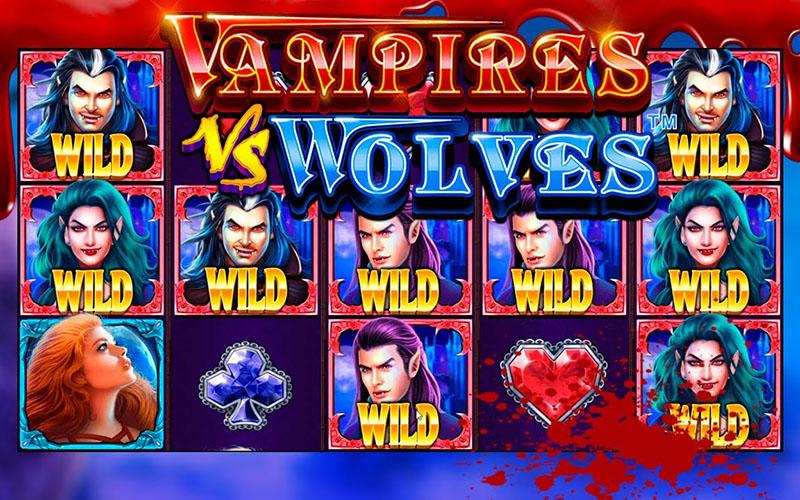 Ma cà rồng và người sói trong Vampires vs Wolves