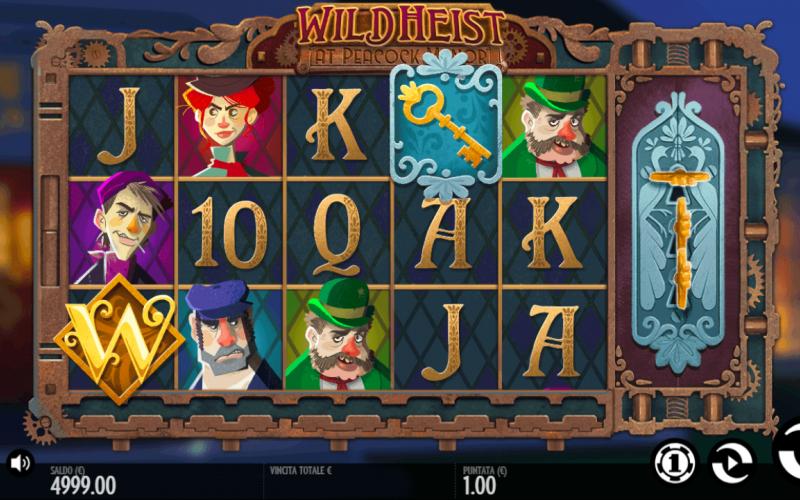 Đánh giá game slot Wild Heist At Peacock Manor