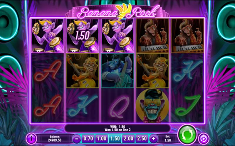 Phá đảo game slot Banana Rock như thế nào?