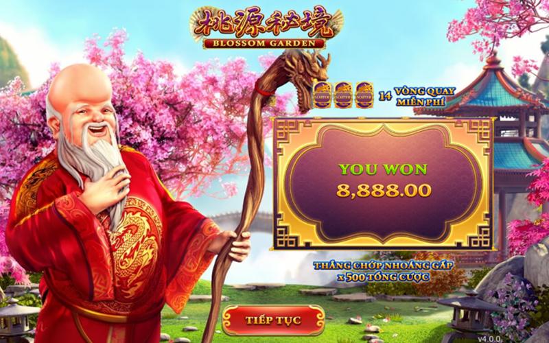 Tính năng Game Slots Blossom Garden