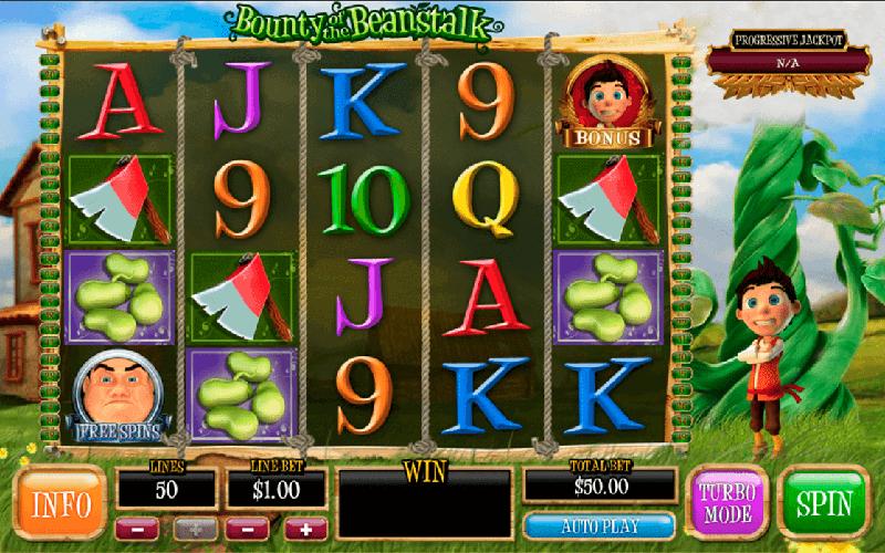Giới thiệu game slot Bounty of the Beanstalk