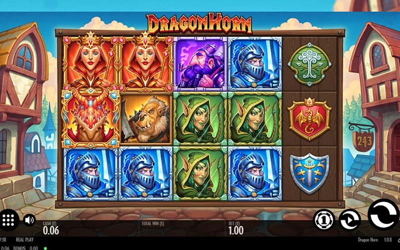 Đánh giá chung về game slots Dragon Horn