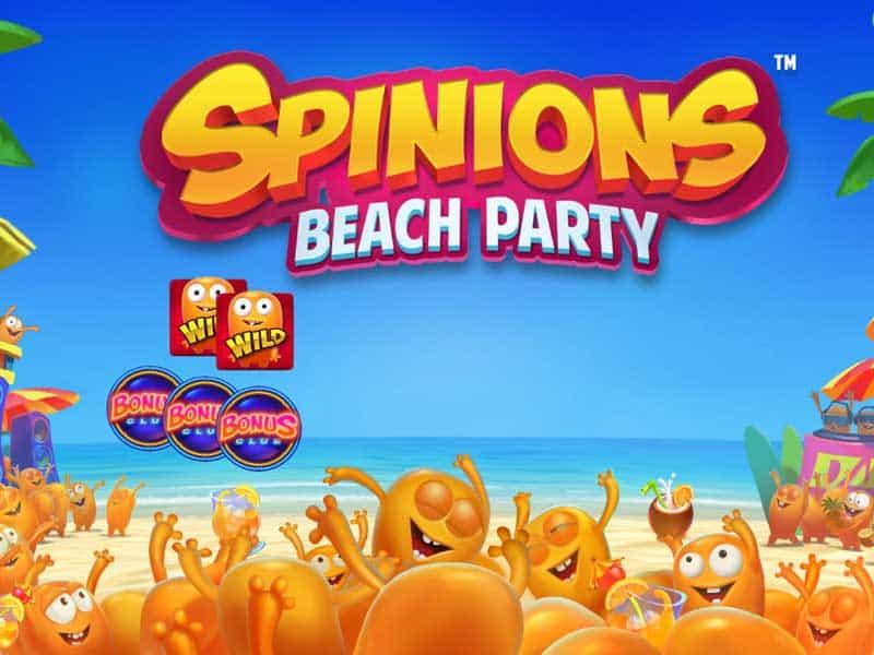 Slot Spinions Beach Party game hot cho mùa hè 2021