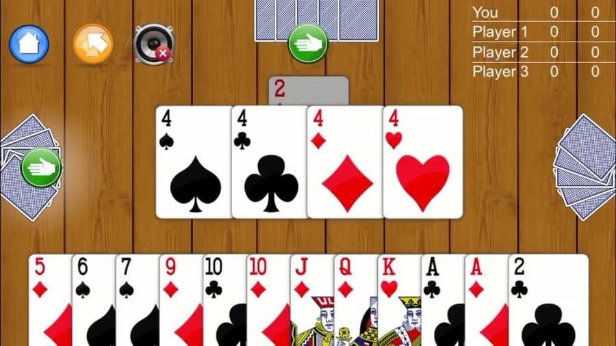 Một hình thức game bài online