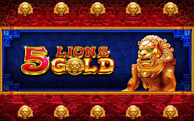 Gặp gỡ vua sư tử trong game đổi thưởng Slot 5 Lions Gold
