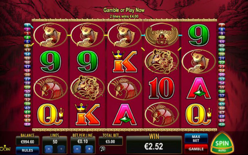 Giới thiệu game slot 50 Dragons