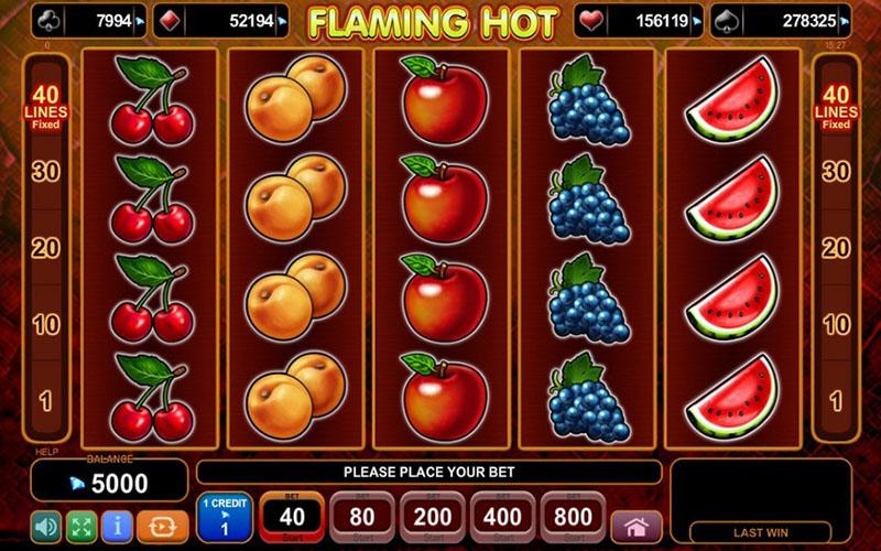 Giới thiệu về game slot Flaming Hot