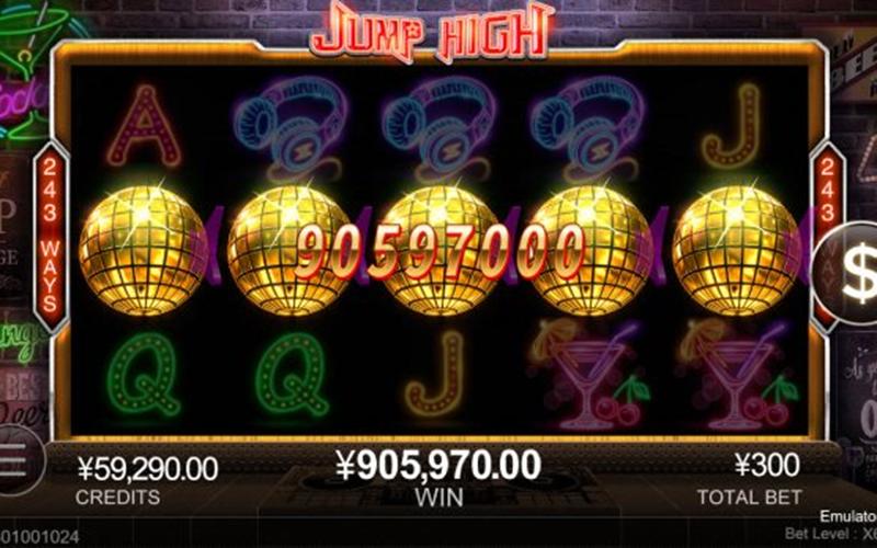 Giới thiệu về game slot Jump High