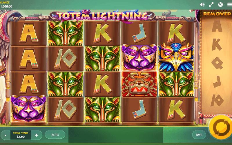 Biểu tượng trong game slot Totem Lightning