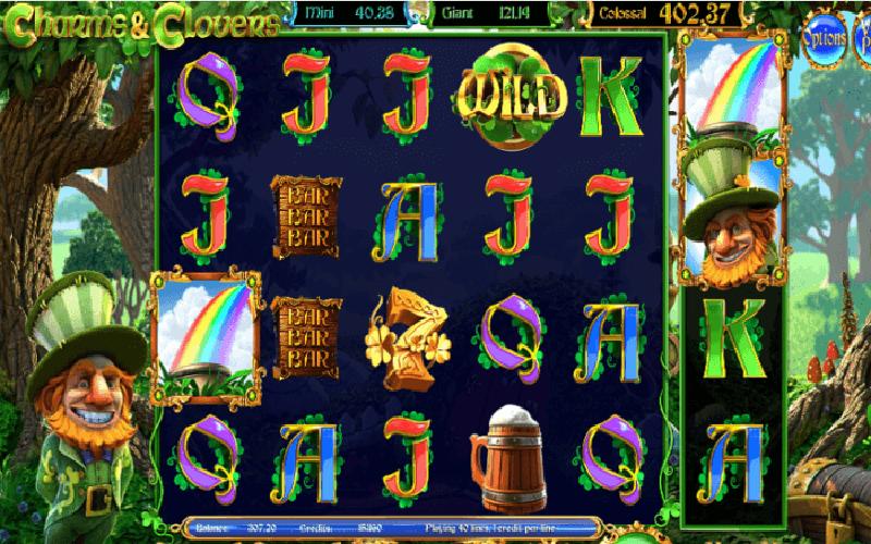 Giới thiệu game slot Charms & Clovers