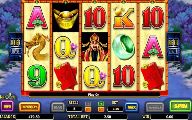 Tính năng thưởng trong game slot Choy Sun Doa