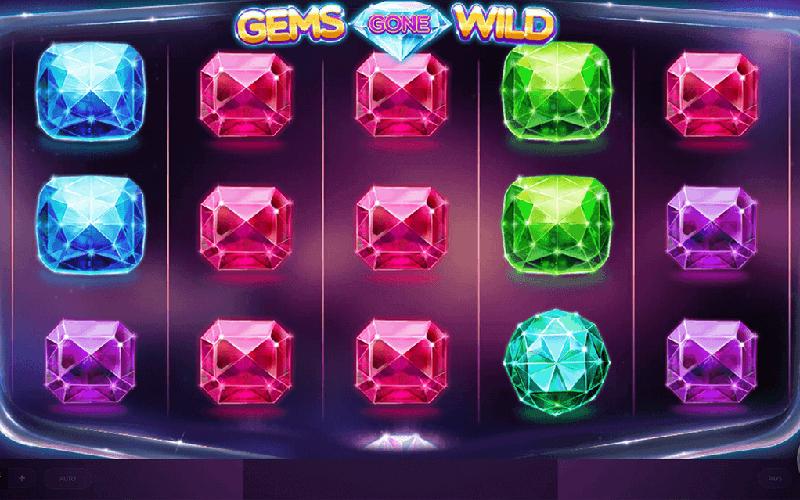 Giới thiệu về game slot Gems Gone Wild