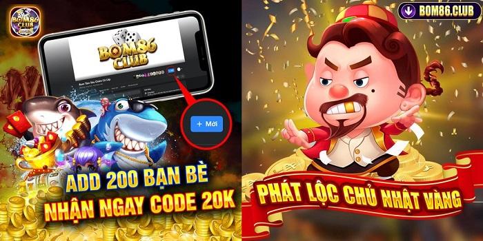 Làm sao để nhận giftcode tại Bom86? Tại sao nên chọn Bom86?