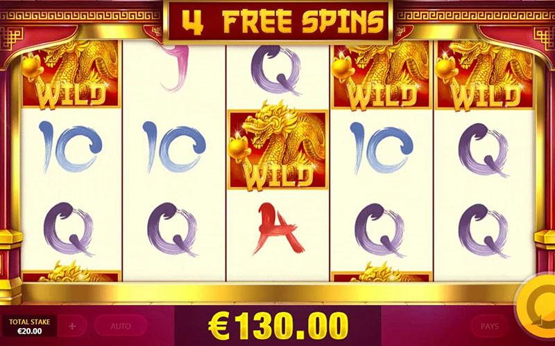 Phần thưởng tính năng trong slot game Magic Gate