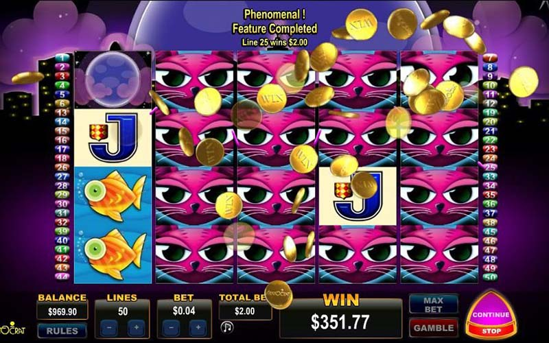 Game slot Miss Kitty