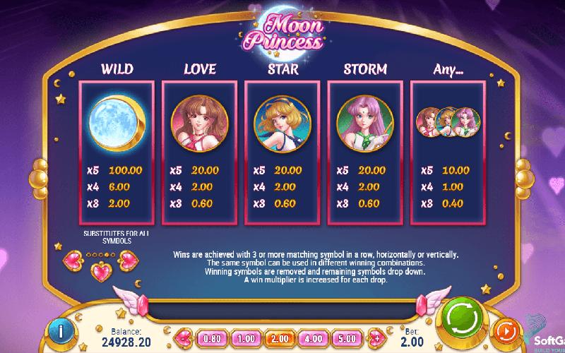 Game slot Moon Princess