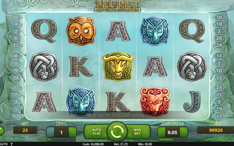 Giới thiệu về slot Secret of the Stone