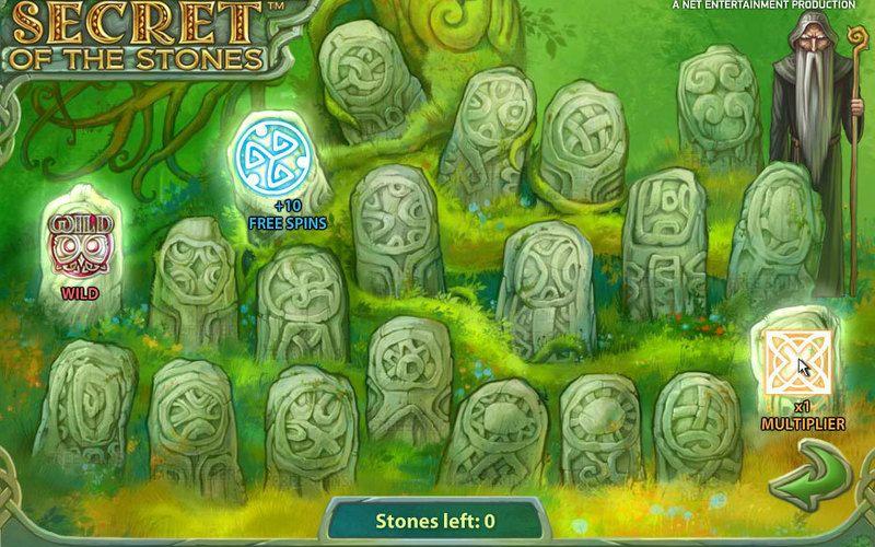 Tính năng thưởng trong Secret of the Stones