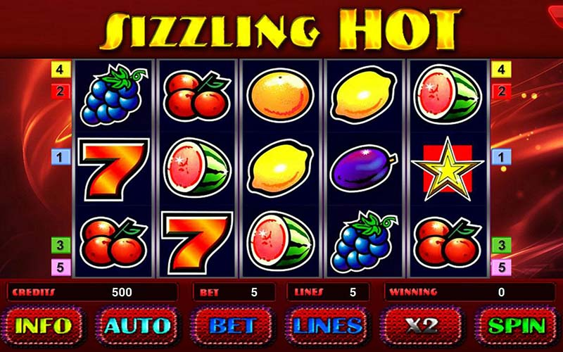 Game slot Sizzling Hot