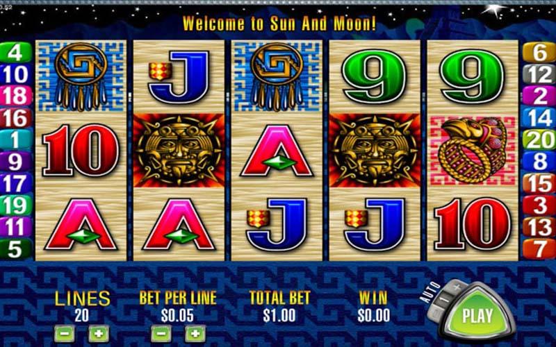 Giới thiệu về game slot Sun & Moon